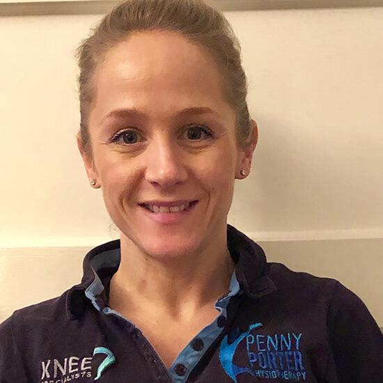 Rebecca Pritchard Physiotherapist