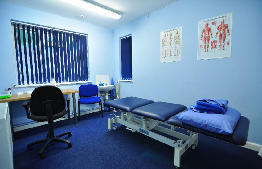 Treatment Room physiotherapist